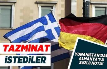 Yunanistan'dan Almanya'ya nota!