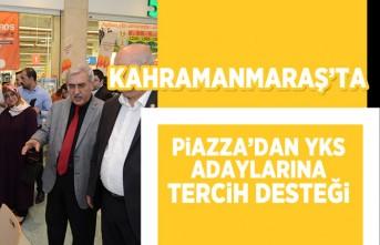 Kahramanmaraş'ta Piazza'dan YKS adaylarına tercih desteği!