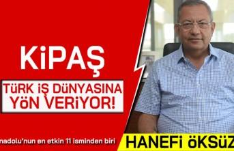 Kipaş Türk iş dünyasına yön veriyor! Anadolu'nun en etkin 11 isminden biri Hanefi Öksüz