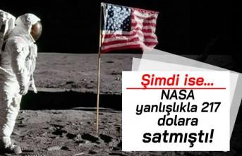 NASA yanlışlıkla 217 dolara satmıştı! Şimdi ise...
