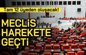 Tam 12 üyeden oluşacak! Meclis harekete geçti!