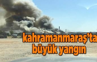 o yangına helikopterle müdahale ediliyor