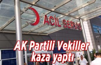Ak Partili Vekiller kaza yaptı!
