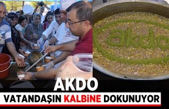 Akdo vatandaşın kalbine dokunuyor!