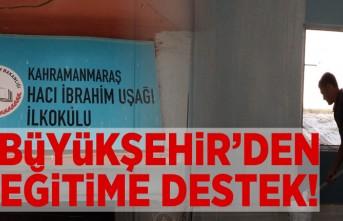 Büyükşehir'den eğitime destek!