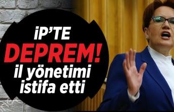İP'te deprem! İl yönetimi istifa etti!