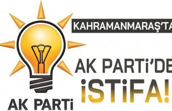 Kahramanmaraş'ta Ak Partide istifa!