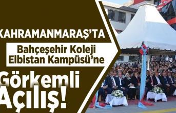 Kahramanmaraş'ta Bahçeşehir Koleji Elbistan Kampüsü'ne görkemli açılış!