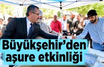 Kahramanmaraş'ta Büyükşehir'den aşure etkinliği!