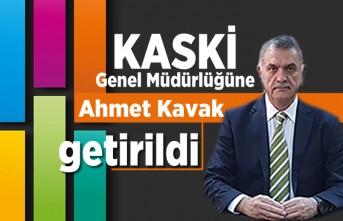 KASKİ Genel Müdürlüğüne Ahmet Kavak getirildi!