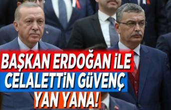 Başkan Erdoğan ile Celalettin Güvenç yan yana!