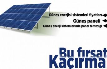 Güneş enerjisi ile ilgili her şey burada! Bu fırsatı kaçırma!