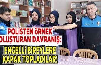 Kahramanmaraş'ta Polisten örnek davranış!