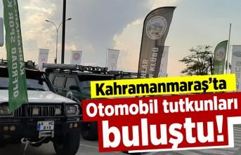 Otomobil tutkunları Kahramanmaraş'ta buluştu!