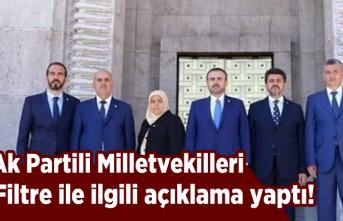 AK Partili vekiller filtre ile ilgili açıklama yaptı