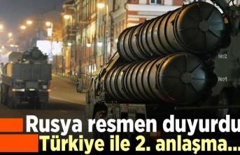 Rusya resmen duyurdu Türkiye ile 2. anlaşma...