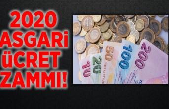 2020 Asgari ücret zammı!