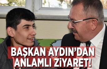 Başkan Aydın'dan anlamlı ziyaret!