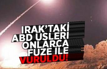 IRAK'TAKİ ABD ÜSLERİ ONLARCA FÜZE İLE VURULDU!