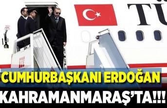CUMHURBAŞKIN RECEP TAYYİP ERDOĞAN KAHRAMANMARAŞ'TA!!!