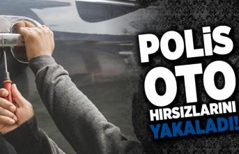 Polis oto hırsızlarını yakaladı!