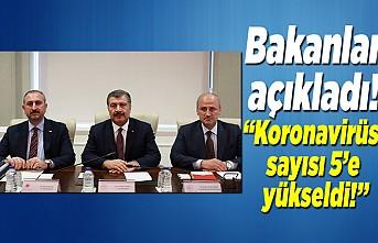 Son dakika… Sağlık Bakanı Koca açıkladı! Türkiye'de Corona virüsü vaka sayısı yükseldi!