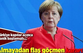 Türkiye kapılara açınca panik başlamıştı... Almayadan flaş göçmen kararı!