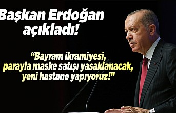 """Başkan Erdoğan açıkladı! """"Kahramanmaraş'ta marketlerde maske satışı yasaklanacak!''"""