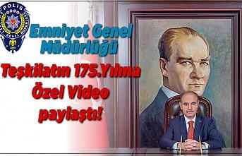 Emniyet Genel Müdürlüğü Teşkilatın 175.yılına özel video paylaştı!