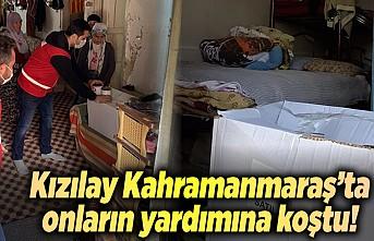 Kızılay Kahramanmaraş'a umut dağıtıyor!
