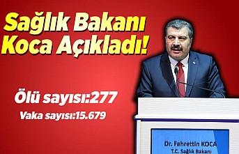 Sağlık Bakanı Fahrettin Koca Koronavirüs vakalarını ve hayatını kaybedenlerin sayısını açıkladı!