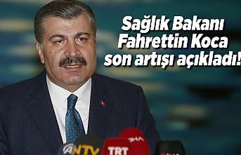 Sağlık Bakanı Fahrettin Koca son artışı açıkladı! peki Kahramanmaraş'ta vaka sayısı kaç oldu?