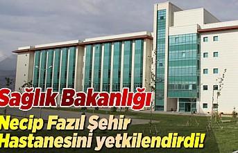 Sağlık Bakanlığın o testler için Necip Fazıl şehir hastanesini yetkilendirdi!
