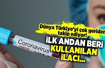 Dünya Türkiye'yi geriden takip ediyor! İlk andan beri kullanılan ilacı...