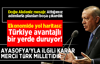 Başkan Erdoğan'dan flaş 15 Temmuz, Ayasofya, Mescid-i Aksa ve Libya mesajı!