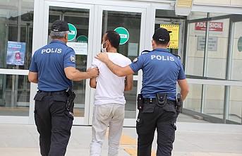 34 suç kaydı bulunan hırsızlık şüphelisi yakalandı