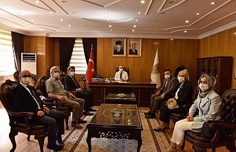 İYİ Parti Kahramanmaraş İl Başkanı Av. Ahmet Çabukel, Kahramanmaraş Valisi Ömer Faruk Coşkun'a ziyarette bulundu