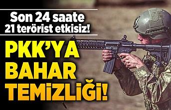 PKK'ya bahar temizliği!