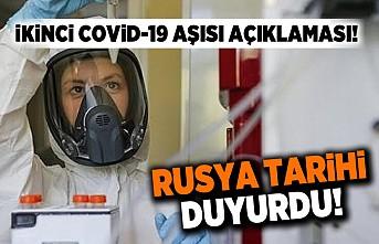 Rusya tarihi duyurdu! Covid-19 aşısı açıklaması!