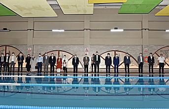 Şehit Hüseyin Varol Kapalı Yüzme Havuzu törenle açıldı