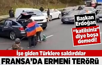 İşe giden Türklere saldırdılar! Fransa'da Ermeni terörü!