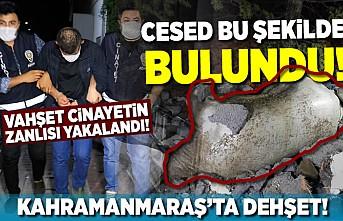 Kahramanmaraş'ta çuval içinde ölü bulunmuştu! Katil yakalandı!