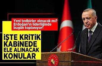 Cumhurbaşkanlığı Kabinesi Başkan Erdoğan'ın liderliğinde 'COVID-19' gündemiyle toplanacak