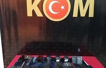 Gaziantep'te 239 adet kaçak cep telefonu ele geçirildi