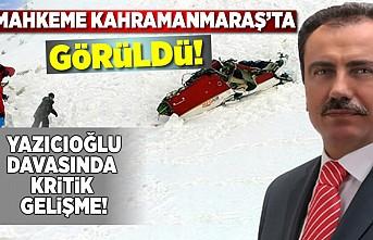 Kahramanmaraş'ta görülen davada, flaş gelişme!