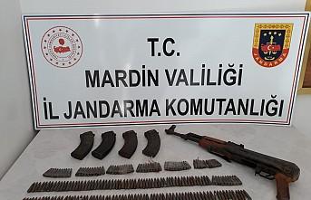 Mardin'de teröristlere ait mühimmat ele geçirildi