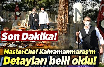 MasterChef Kahramanmaraş'ın detayları belli oldu!