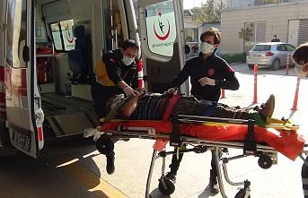 Yük asansöründe boşluğa düşen işçi ağır yaralandı