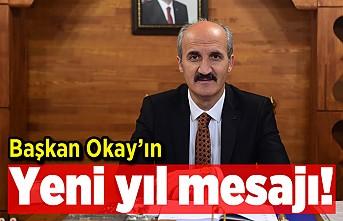 Başkan Okay'ın yeni yıl mesajı!