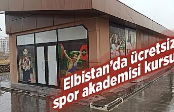 Elbistan'da ücretsiz spor akademisi kursu